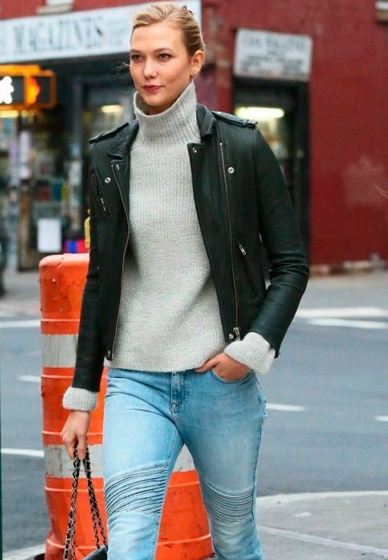 Cabecera Look Karlie Kloss - Estilo de las celebrities